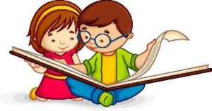 Kids-Reading-Cartoon-Type