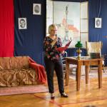 Imprezę poprowadziła pani Krystyna Pyzio